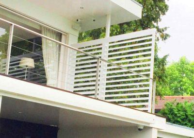 shutters op balkon