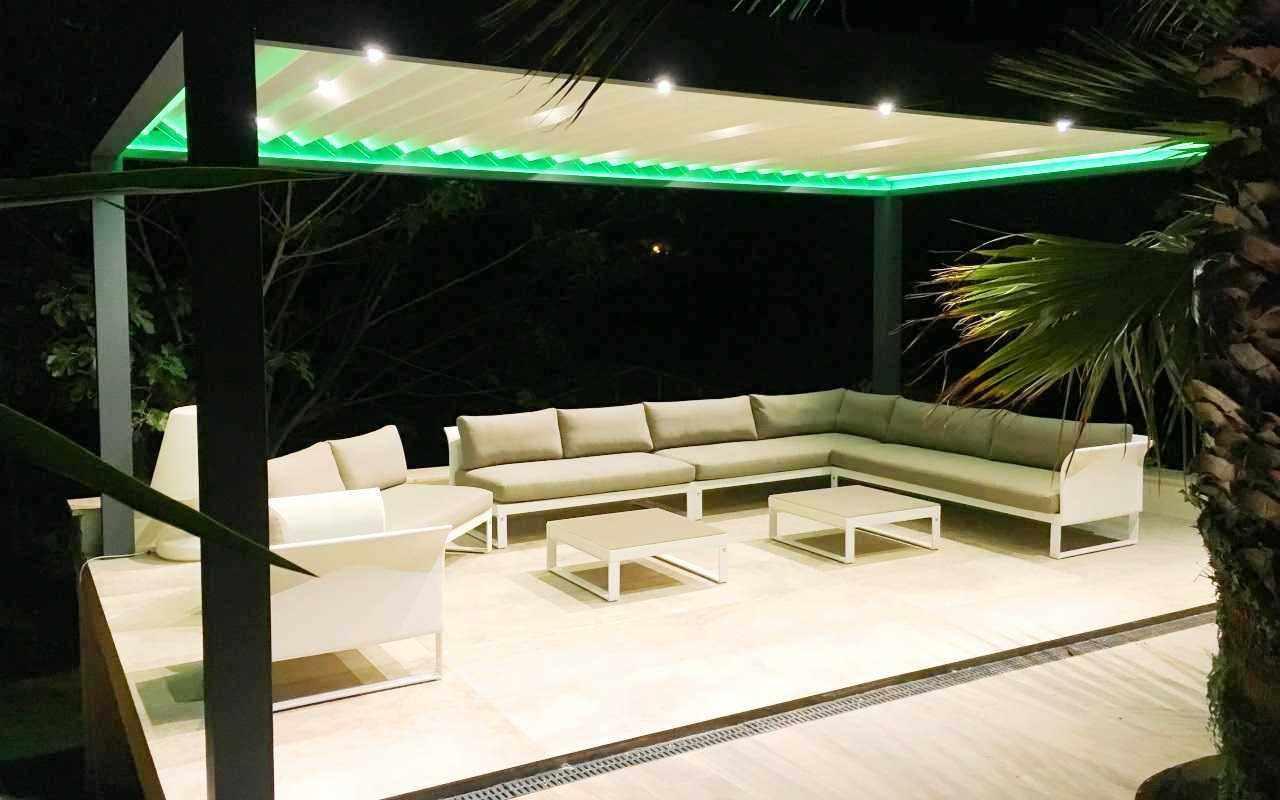 shutterdak met LED verlichting